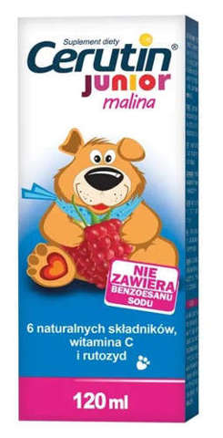 Cerutin Junior malina 120ml