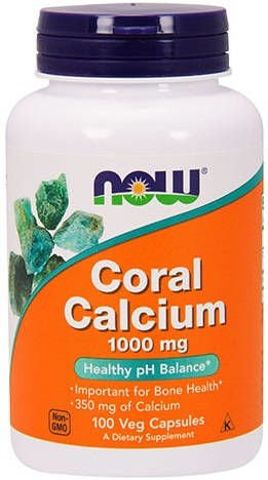 Coral Calcium 1000mg x 100 kapsułek Veg
