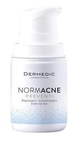 DERMEDIC NORMACNE Preventi regulująco-oczyszczający kren na noc 55g