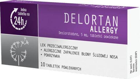 Delortan Allergy 5mg x 10 tabletek