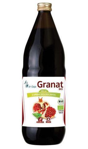 Dr Gaja Granat BIO Sok z owoców granatu 1000ml