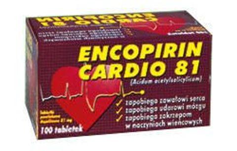 ENCOPIRIN CARDIO 81mg x 100 tabletek