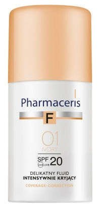 ERIS Pharmaceris F fluid kryjący 01 Ivory 30ml