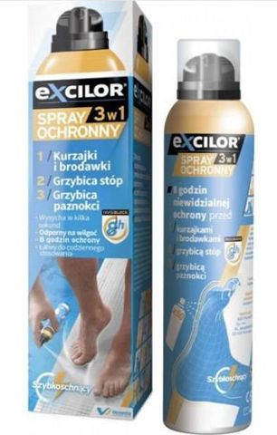 Excilor spray ochronny 3w1 100ml
