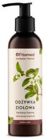 """FITOMED Odżywka ekstraziołowa do włosów koloryzowanych (odcienie ciemne) """"Herbata i Henna"""" 200ml"""
