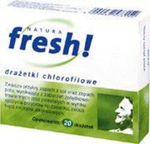 FRESH Natura x 20 drażetek chlorofilowych