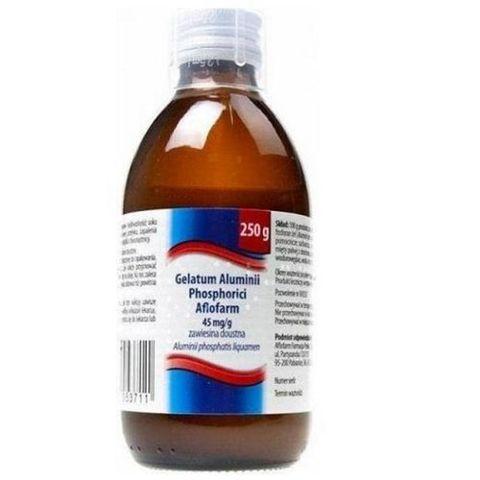 GELATUM Aluminii phosphorici mleczko 250g