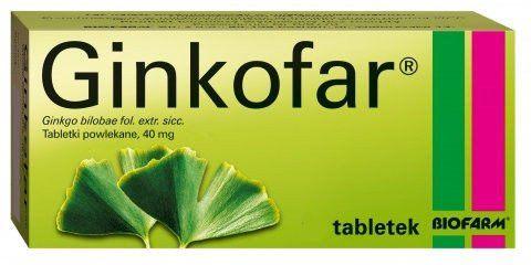 GINKOFAR x 90 tabletek