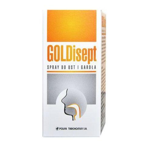 GOLDisept spray do ust i gardła 25ml