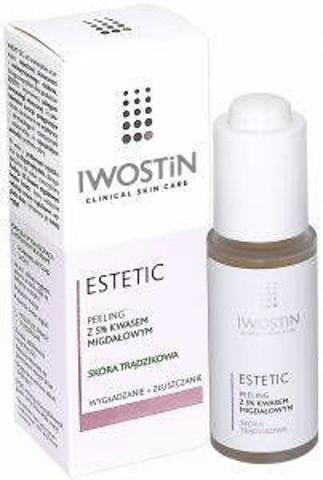 IWOSTIN Estetic Peeling z 5% kwasem migdałowym na noc 30ml