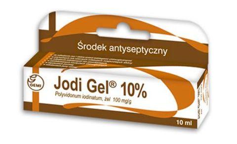 JODI GEL 10% żel 0,1g/1g 10ml