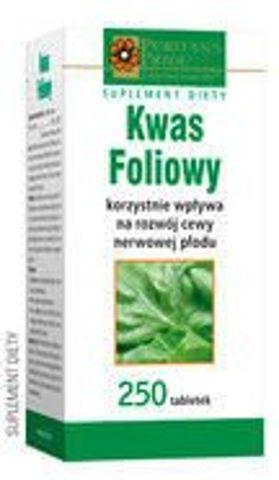 KWAS FOLIOWY x 250 tabletek