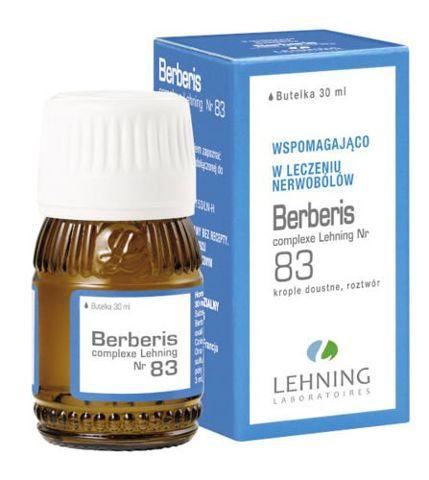 LEHNING Berberis Complexe Nr 83 krople 30ml