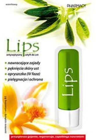 LIPS Sztyft do ust antyseptyczny 3,8g