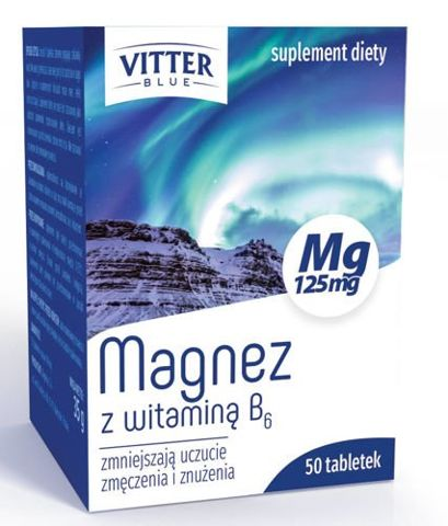 MAGNEZ z witaminą B6 x 50 tabletek
