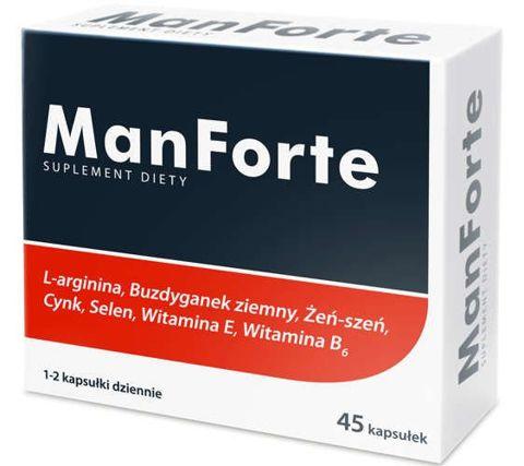 MANFORTE x 45 kapsułek