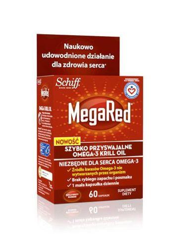 MEGARED Omega-3 Krill Oil 300mg x 60 kapsułek