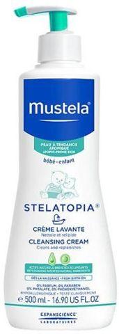MUSTELA Stelatopia krem myjący 500ml