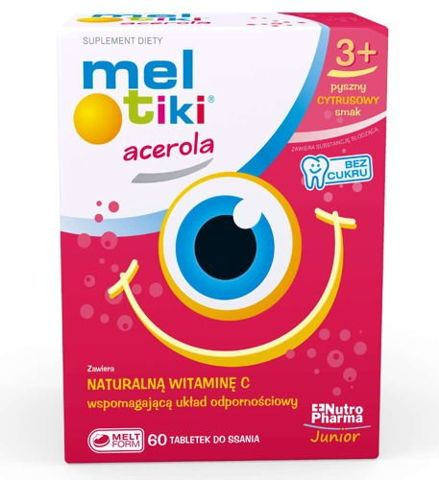 Meltiki Acerola x 60 tabletek do ssania
