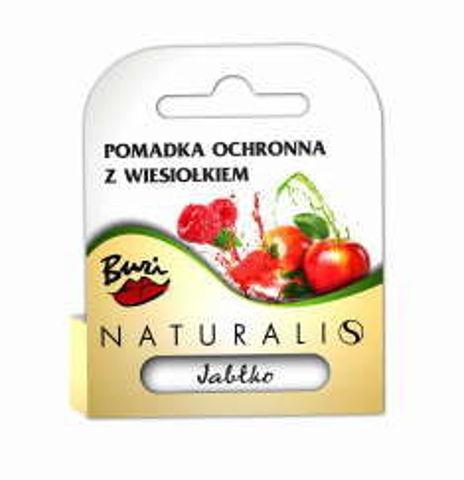 NATURALIS Pomadka ochronna do ust Buzi jabłko 3.6g