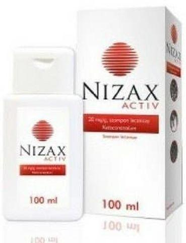 NIZAX ACTIV Szampon leczniczy 20mg/g 100ml