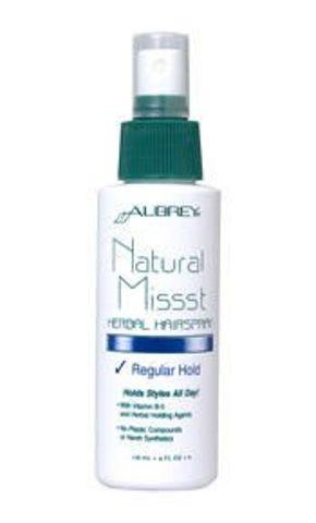 Natural Missst Ziołowy spray do włosów - średnie utrwalenie 118ml