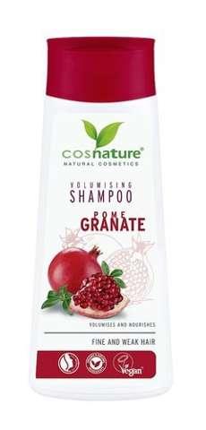 Naturalny zwiększający objętość włosów szampon z owocem granatu 200ml