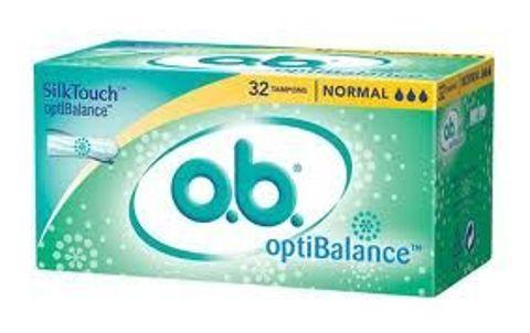 OB OPTIBALANCE NORMAL x 32 tampony