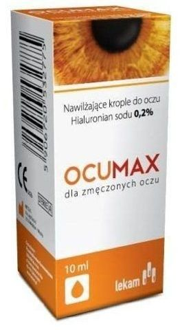 OCUMAX 0,2% krople do oczu 10ml