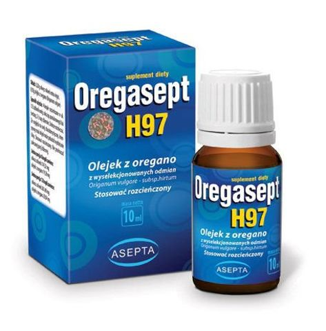 OREGASEPT H97 Olejek z oregano 10ml