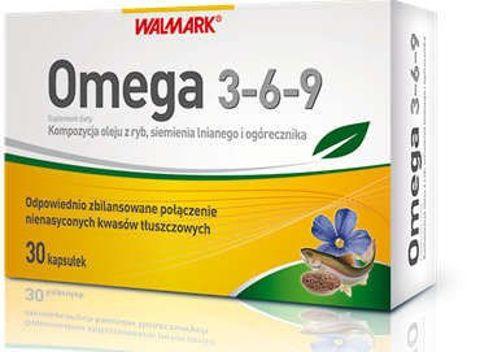 Omega 3-6-9 kapsułki 500mg x 30 sztuk
