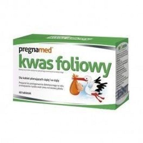 PREGNAMED Kwas foliowy x 60 tabletek