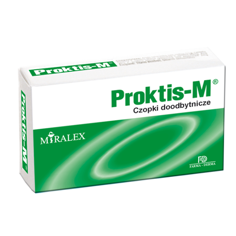 PROKTIS-M  x 10 czopków