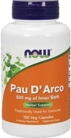 Pau d'Arco 500mg x 100 kapsułek Veg