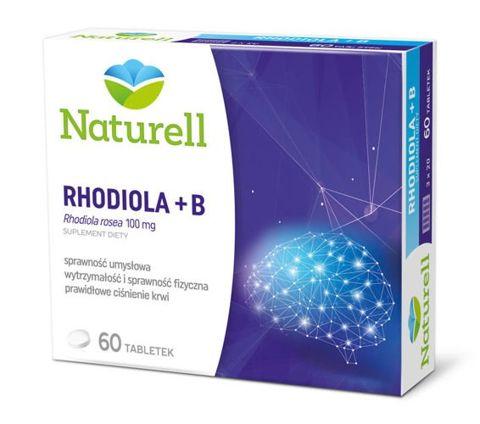 RHODIOLA + B x 60 tabletek