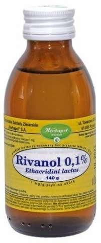 RIVANOL 0,1% roztwór 150g