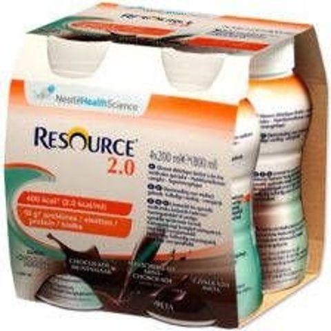 Resource 2.0 smak czekolada mięta 200ml x 4 sztuki