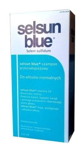 SELSUN Blue Szampon przeciwłupieżowy 125ml do włosów normalnych