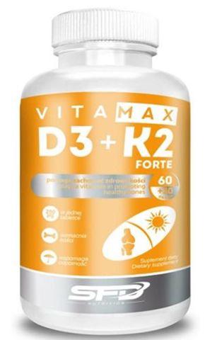 SFD Vitamax D3 + K2 Forte x 90 kapsułek