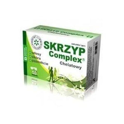 SKRZYP COMPLEX Chelatowy Domowa Apteczka x 50 tabletek