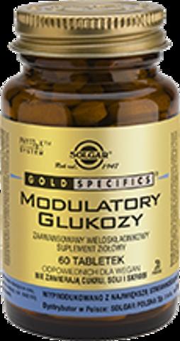 SOLGAR Modulatory glukozy x 60 tabletek