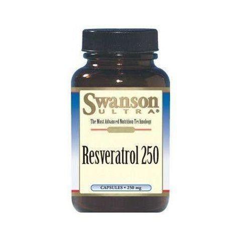 SWANSON Resweratrol 250mg x 30 kapsułek