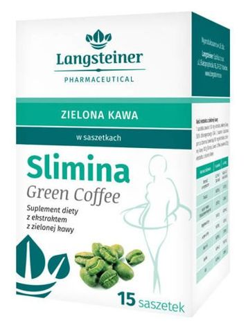Slimina Green Coffee x 15 saszetek