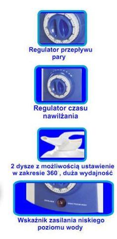 TECH-MED NAWILŻACZ ultradźwiękowy TM-2010