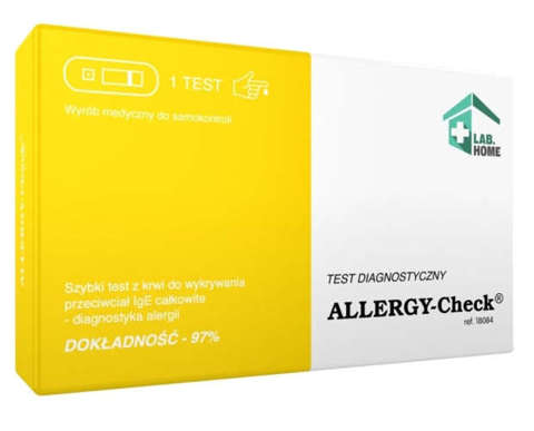 Test  ALLERGY-Check x 1 sztuka