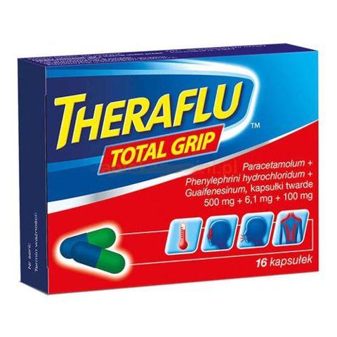 Theraflu Total Grip x 16 kapsułek