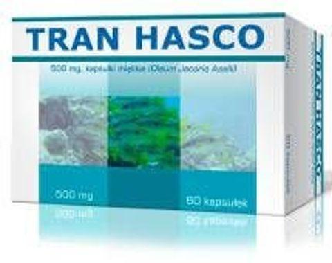 Tran Hasco 500mg x 60 kapsułek