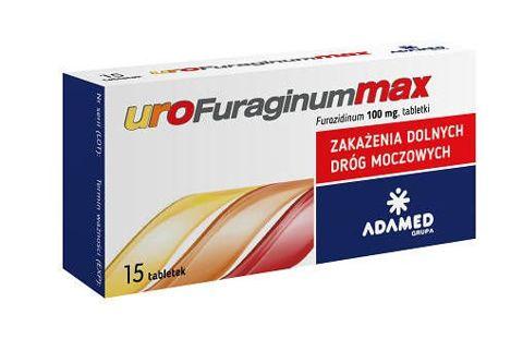 UROFURAGINUM Max 0,1g x 15 tabletek