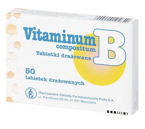 VITAMINUM B Compositum x 50 drażetek