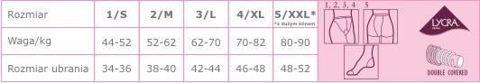 Veera Rajstopy przeciwżylakowe 70 DEN kolor naturalny rozmiar 3 x 1 sztuka
